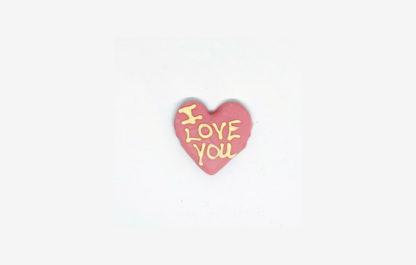 I Love You Lille Jordbær Hjerte